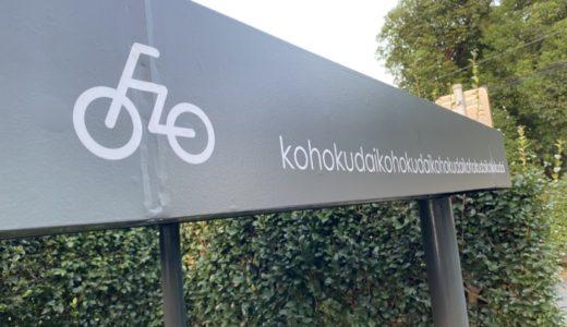 自転車置き場🚲